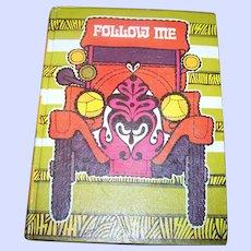 Vintage School Primer Text Book Reader FOLLOW ME  Level 3 Gage Illustrated