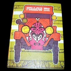 Vintage School Primer Text Book Reader FOLLOW ME  Level 3 Gage Illustrated