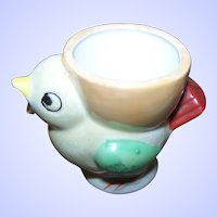 What A Sweet Little  Lustre Ware Chick  Easter Egg Cup Eggcup