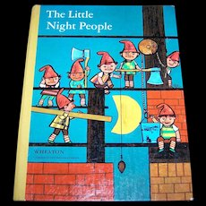 "Hard Cover Children's Book "" The Little Night People "" by August Kopisch"