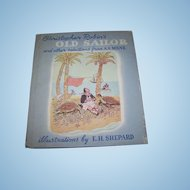 Hard Cover Children's Book Christopher Robin's OLD SAILOR and Other Selections A.A. Milne