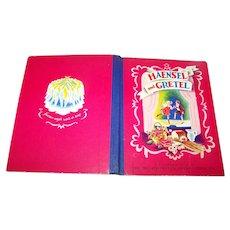 Hard Cover Children's  Book HAENSEL and GRETEL The Metropolitan Opera Guild