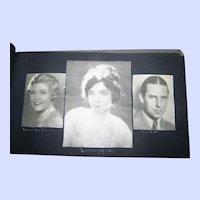 Screen Idols Movie Stars Scarp Book June 1928 Paper Prints such as Mary Pickford Joan Crawford  etc