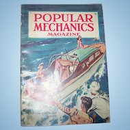 Old Popular Mechanics Magazine March 1948 Featuring a Sea Craft Yacht Boat