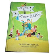 Hard Cover Reader Primer School Text Book Sounds of The Story Teller Teachers Edition by Bill Martin JR