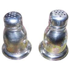 Vintage Sterling Silver BIRKS Salt and pepper Spice Shakers