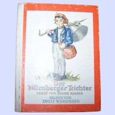 Der Nurnberger Trichter Little Hard Cover Illustrated Book Bilder Von Emeli Werzinger