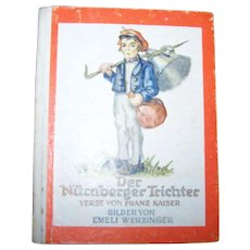 Der Nurnberger Trichter Little Hard Cover Illustrated Book Bilder Von Emeli Werzinger