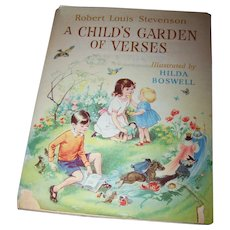 Hard Cover Children's Book A Child's Garden of Verses Robert Louis Stevenson