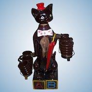Sweet Novelty Japan Enterprise Sales Toronto Canada Kitty Cat Liquor Decanter Barware Home Decor Accent