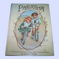 Hard Cover Children's Book The Great Panorama Three Dimensional Pop-up 1982 First Printing