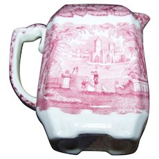 Masons Vista Square Ironstone China  Creamer