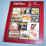 Hard Cover Reference Book The Encyclopedia of Collectibles Folk Art Frogs Hatpins Guns ETC