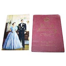 "Small Advertising  Paper Back Book Booklet The British Monarchy: Elizabeth I to Elizabeth II "" Eno's ""Fruit Salad"""