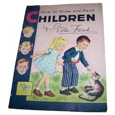 Over Size Paper Book How To Draw and Paint Children by Viola French