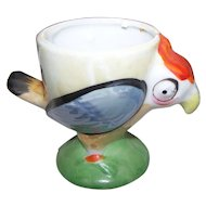 Hand Painted Vintage Figural Bird Eggcup Egg Cup Made in Japan Kitchenware HomeDecor Accent