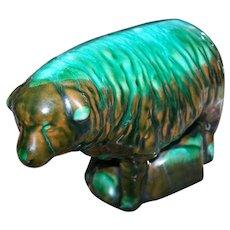 Rare Not Often Found BMP Blue Mountain Pottery Lamb Figurine