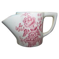 Vintage Crown Devon Fielding England Floral Themed Shaving Mug