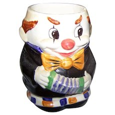 Sweet Vintage Goebel W Germany Clown Mug Hand Painted 74 011 12