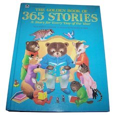 A Golden Book of 365 Stories By Kathryn Jackson Illustrated by Richard Scarry