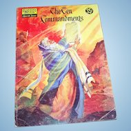 Classics Illustrated Special Issue: The Ten Commandments #135A Soft Cover Comic Book