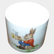 Sweet Little Fine Bone China Bunnykins Royal Doulton Egg Cup Eggcup Made in England