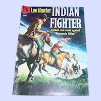 Comic Book Lee Hunter Indian Fighter DELL No 904 10 Cent Era  Not Graded