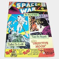 """Space War """" the ray of hate"""" Charlton Comic Book # 5 10C 1960 Ungraded Sci-Fi  Ditko Cover"""