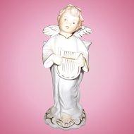 Vintage Napco Japan Figurine Planter Vase Putti Angel Ceramic