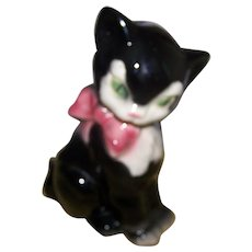 Sweet Figural Royal Copley Pottery Kitty Cat Figurine Planter Home Decor Accent