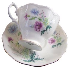Beautiful Royal Albert Floral Themed Tea Cup / Teacup & Saucer Set MI England
