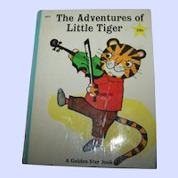 The Adventures of Little Tiger A Golden Star Book Golden Press  6073