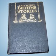 Hard Cover Black Book Uncle Arthur's Bedtime Stories Topical Index for VOLS 1 - 20
