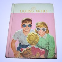 "Collectible Hard Cover School Book Reader Dick & Jane "" The New Guess Who ""  1962"