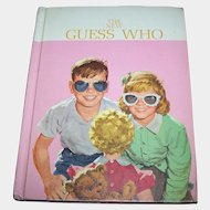 """Collectible Hard Cover School Book Reader Dick & Jane """" The New Guess Who """"  1962"""