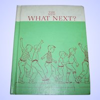 The New What Next  Hard Cover Children's School Reader Text Book