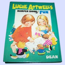 Lucie Atwell's Bumper Book o Fun Dean & Son LTD 1973