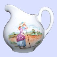 Charming Little Bo - Peep Has Lost Her Sheep Porcelain Creamer Jug ELEANOR  Bavaria