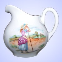 Charming Little Bo - Peep Has Lost Her Sheep Porcelain Creamer Jug ELEANOR  Bavaria