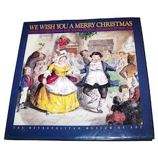 Hard Cover Book We Wish You A Merry Christmas The Metropolitan Museum of ART