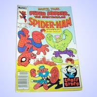 MARVEL TAILS Peter Porker Spectacular Spider - Ham   # 1 Canadian 0.75 Variant Nov1