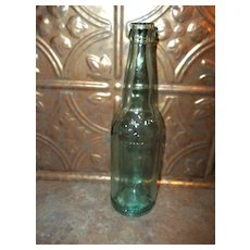 Vintage Embossed  Advertising West End Glass Beer Bottle