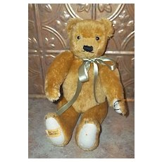 Vintage Merrythough Jointed Teddy Bear England