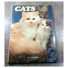 Charming Vintage Book Titled CATS Color Nature Library Photographs