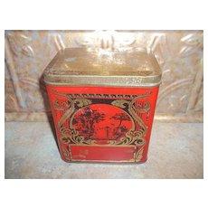 Scenic Nouveau Ocean Blend Tea Toronto Canada Advertising Tin