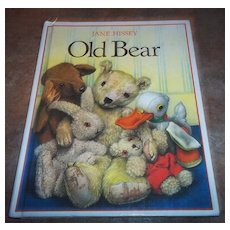 "Vintage Book "" Old Bear "" By Jane Hissey"