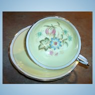 Double Paragon Mixed Floral Tea Cup & Saucer