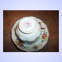 Royal Albert Petit Point Floral Themed  Tea Cup Teacup  & Saucer England