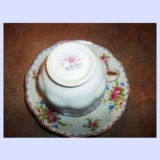 Royal Albert Petit Point Floral Themed  Tea Cup Teacup  & Saucer England