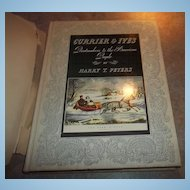 Hard Cover Vintgae  Book Currier & Ives By Harry T. Peters 1942